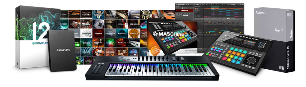 SEM free and discounted equipment Native Instruments Ableton Live
