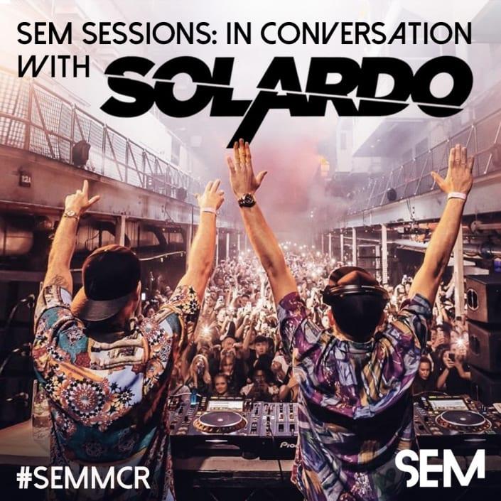 School of Electronic Music Masterclass Solardo