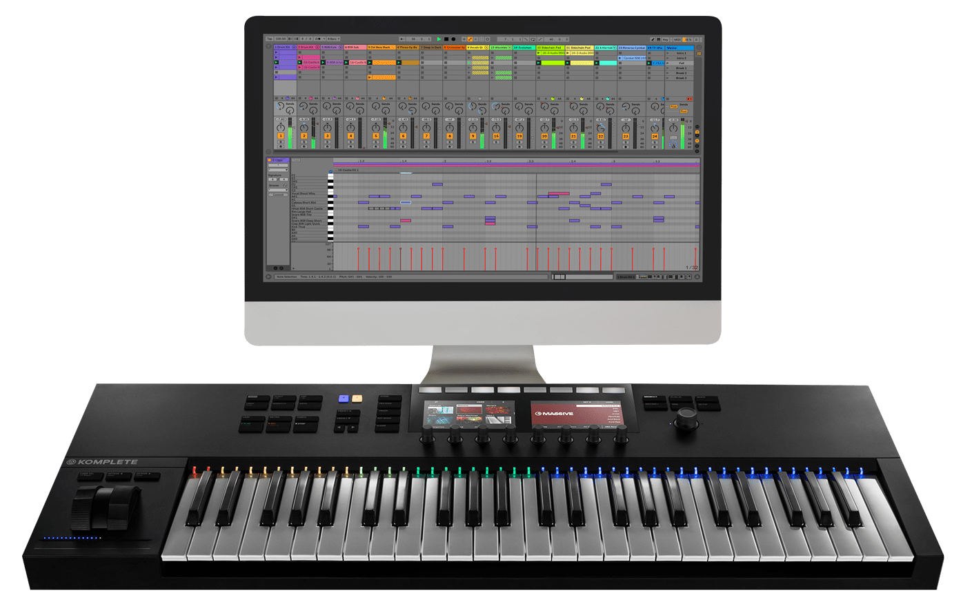 Electronic music composition courses