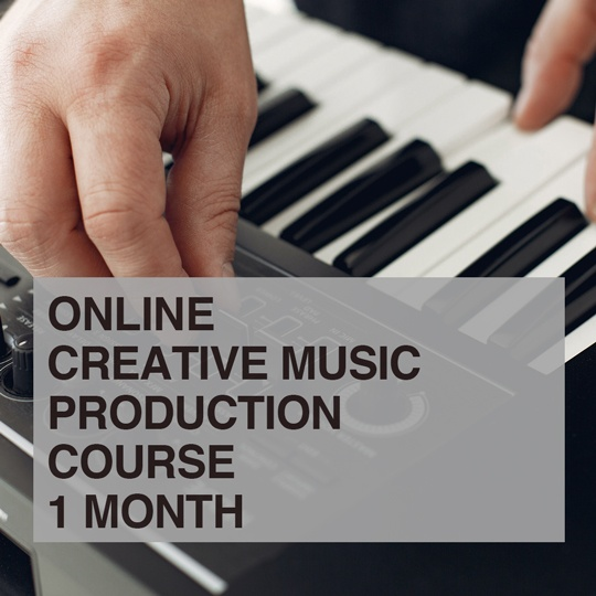 Creative Music Production Online Course portfolio