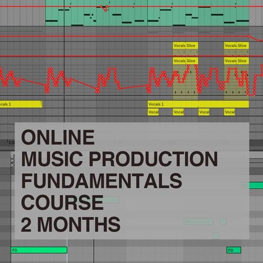 Music Production Fundamentals Online Course portfolio