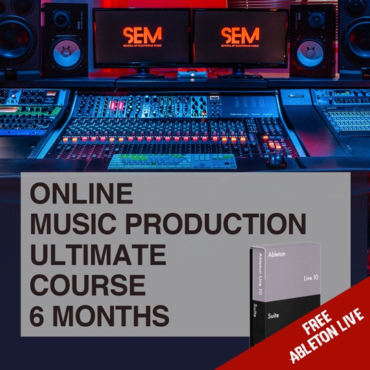 Music Production Ultimate Online Course portfolio
