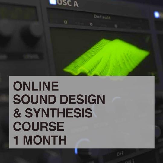 Sound Design and Synthesis Serum Online Course portfolio