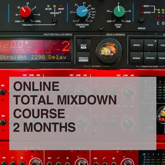 Total Mixdown Online Course portfolio